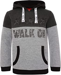 Liverpool FC Grey Marl Boys Football Colour Block Hoodie AW19 LFC Official