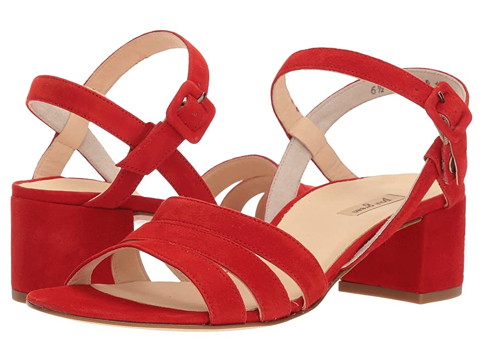 Paul Green Rosemary (Red Suede) Women