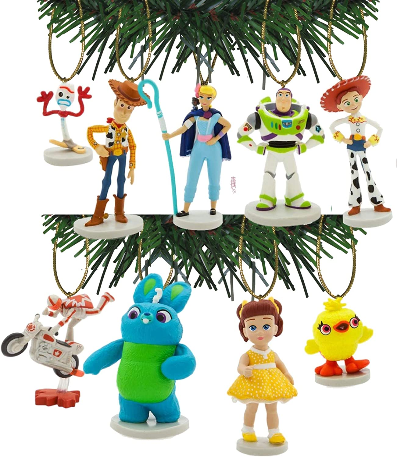 Characteristix Disney Pixar's Toy Story Set Ornament 4 New color of 9 Limited time for free shipping