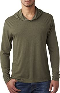 Next Level mens Triblend Long-Sleeve Hoodie (N6021)