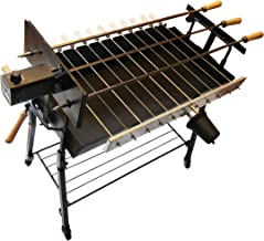 Tritogenia Inline Supreme Cyprus Charcoal Grill, Foukou, with one Multispeed 13-55RPM Motor and one 6RPM Motor