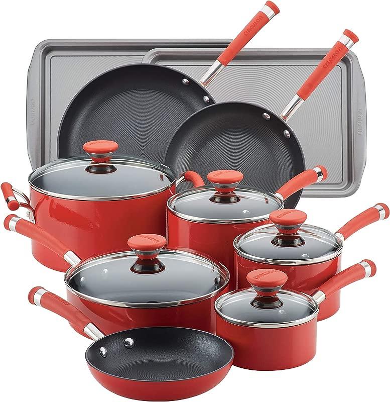 Circulon Acclaim Aluminum Nonstick Cookware Set 15 Piece