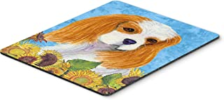 Caroline's Treasures SS4161MP Cavalier Spaniel Mouse Pad, Hot Pad or Trivet, Large, Multicolor