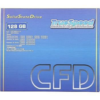 シー・エフ・デー販売 128GB 2.5inch SSD SATA6Gbps 3.5inch変換マウンタ付属 3年保証 東芝製NAND Marvell製コントローラー採用 CSSD-S6TM128NMPQ