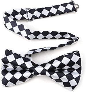 Huojingli Satin Western String Bow Tie