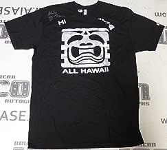 BJ Penn Signed Official UFC Hall of Fame Shirt BAS Beckett COA Hawaii Autograph - Beckett Authentication