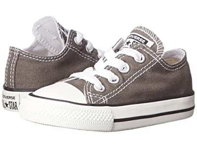 Converse Kids Chuck Taylor(r) All Star(r) Core Ox (Infant/Toddler) (Charcoal) Kids Shoes