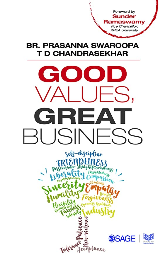 アクセント演劇バラバラにするGood Values, Great Business (English Edition)