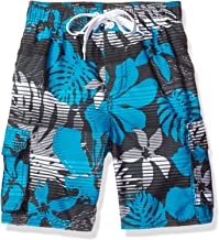 Kanu Surf Boys' Barracuda Quick Dry UPF 50+ Beach Swim Trunk