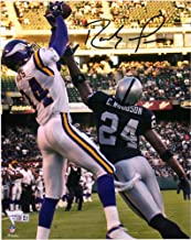 Randy Moss Minnesota Vikings Autographed 8