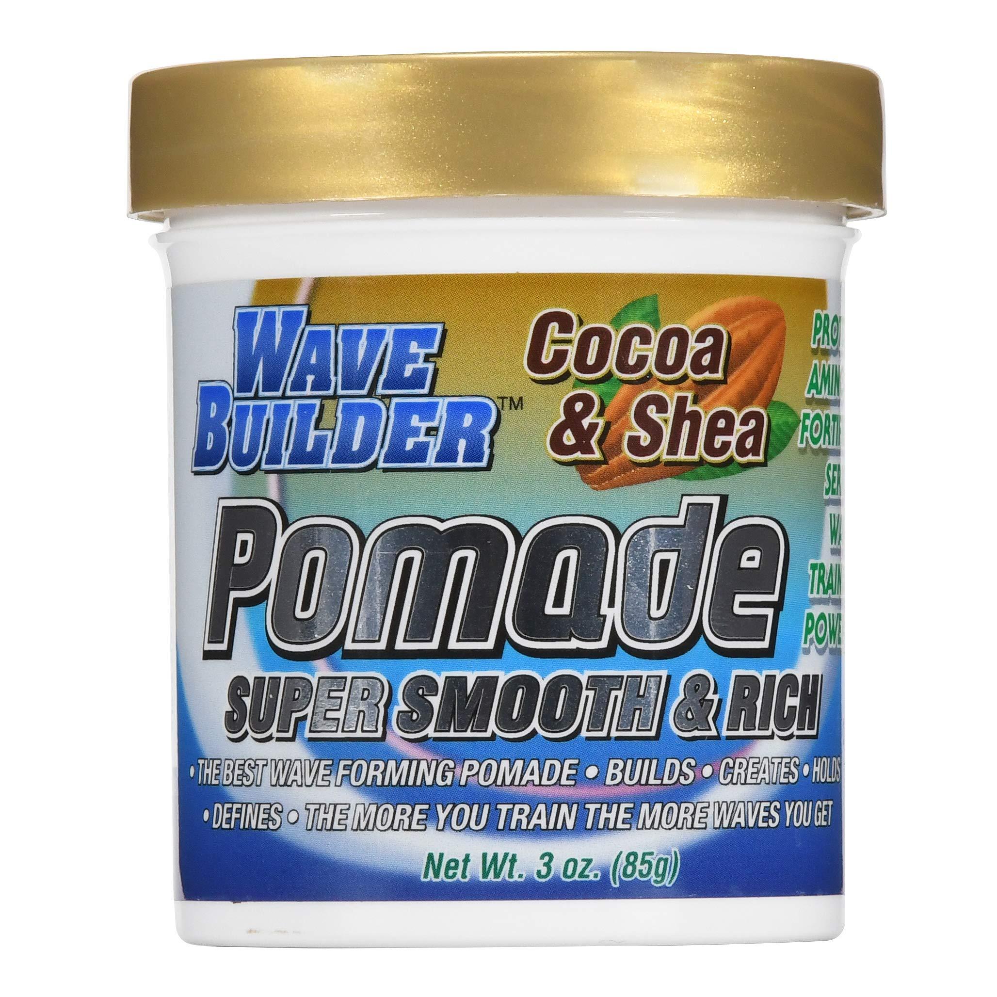 WaveBuilder Pomade Formula Promotes Healthy
