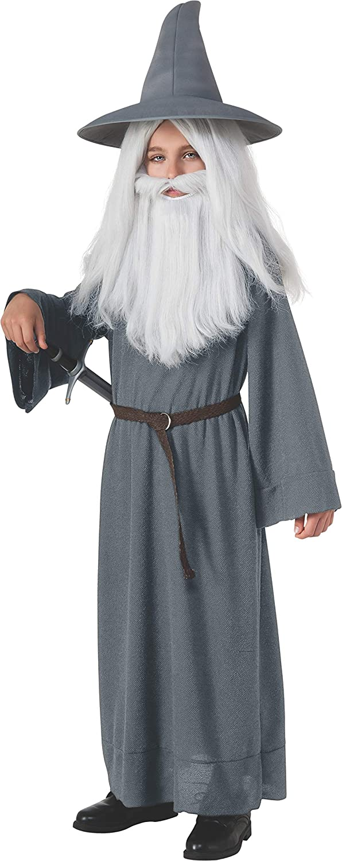 The Seasonal Wrap Introduction Hobbit Gandalf 4 years warranty Grey Costume