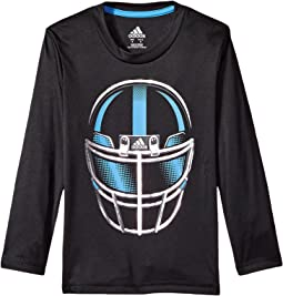 adidas Kids Long Sleeve Defense Helmet Tee (Toddler/Little Kids)