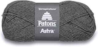 Patons 10017384 Yarn Pat Astra Hea Med.Grey, 1.75 oz, Grey