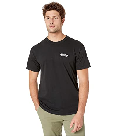 Publish Script Short Sleeve Tee (Black) Men