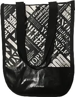 Lululemon 20th Anniversary Small Reusable Tote Carryall Gym Bag (Black)