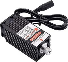 Mostics 1W 405nm blue laser module wood engraving PWM TTL control laser diode power adjustable Adjustable Focusable for 3D Printer CNC DIY Engraving machine 1000mw (1W)