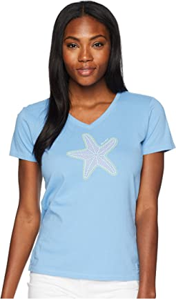 Mosaic Star Crusher Vee Tee