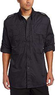 قميص رجالي تكتيكي طويل الأكمام من Propper، كاكي، كبير طويل