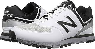 (ニューバランス) New Balance メンズゴルフシューズ?靴 NBG518 White/Black 15 (33.cm) 4E - Extra Wide