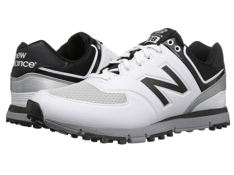 (ニューバランス) New Balance メンズゴルフシューズ?靴 NBG518 White/Black 8 (26cm) 4E - Extra Wide