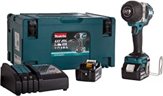 Makita DTW1002RTJ 18V Li-Ion LXT Brushless Impact Wrench Complete with 2 x 5.0 Ah Li-Ion Batteries and Charger Supplied in...