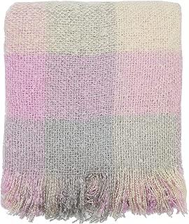 Best pink mohair blanket Reviews