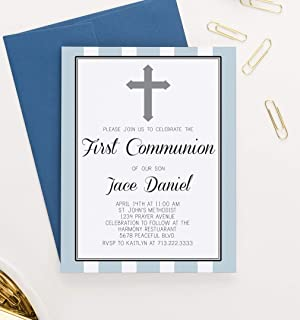 first holy communion invitation text