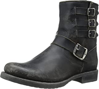FRYE Women's Veronica Belted Short-STO Moto Boot