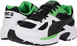 Puma White/Puma Black/Classic Green