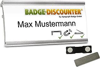 /épingle /25/Porte-badges avec Pince 90/x 56/mm APLI 11746/