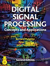 Digital Signal Processing: Concepts and Applications