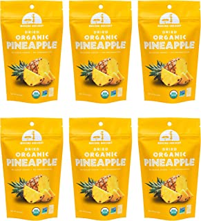 Mavuno Harvest Direct Trade Organic Dried Fruit, Pineapple, 2 Ounce, Pack of 6