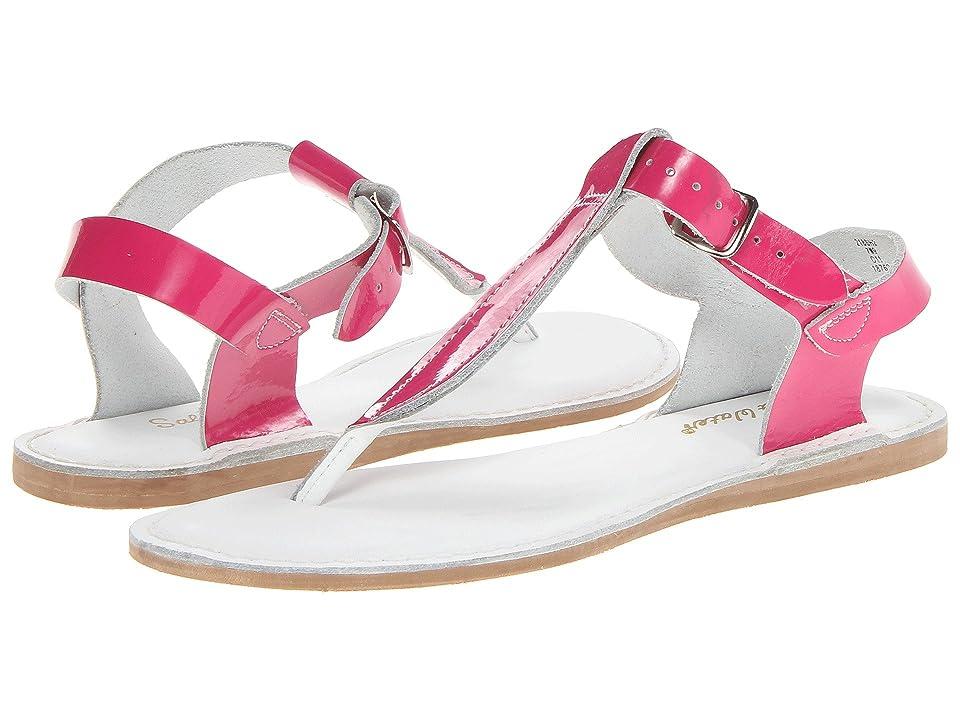 Salt Water Sandal by Hoy Shoes Sun-San T-Thongs (Big Kid/Adult) (Shiny Fuchsia) Girls Shoes