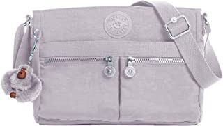Kipling Women's Angie Solid Convertible Crossbody Bag, Sparkly Gold