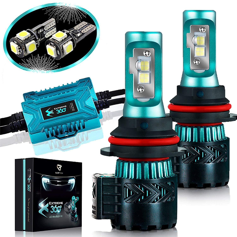 Glowteck LED Headlight Bulbs Conversion