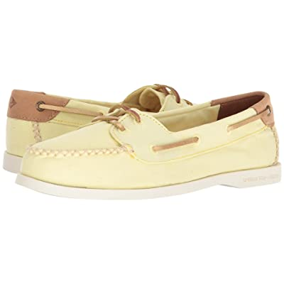 Sperry A/O Venice Canvas (Yellow) Women