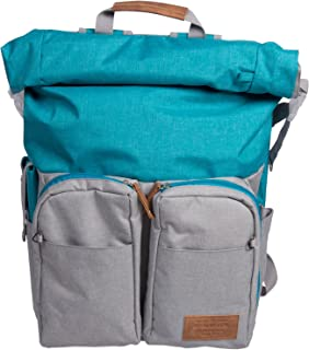 Renwick Roll Top Backpack with Laptop Sleeve and Chord Organizer