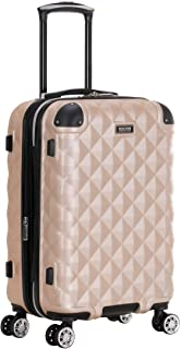 Kenneth Cole Reaction Diamond Tower Luggage Collection Lightweight Hardside Expandable 8-Wheel Spinner Travel Suitcase, Ro...