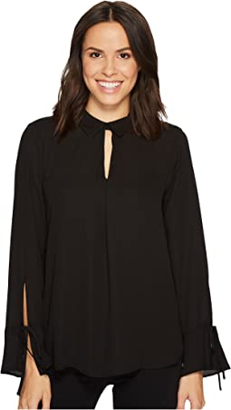 Vince Camuto - Flare Cuff Keyhole Blouse