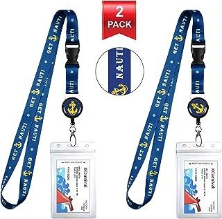 2-Pack Cruise Lanyard & Waterproof ID Key Card Holder Clip. Matching Retractable Badge Reel. Bonus Travel Organizer Bag. Essential Cruise Ship Accessories. Get Nauti