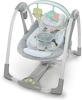 Ingenuity Swing 'n Go columpios, abrazos y hoots de bebé portátil