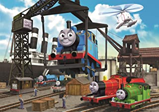 Ravensburger Thomas & Friends at The Docks 35 Piece Jigsaw Puzzle for Kids – Every Piece is Unique, Pieces Fit Together Pe...