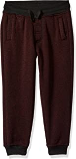 Southpole Boys' Little Boys' Kids Jogger Pants Basic Fleece Solid Clean in Marled Colors