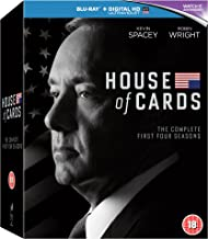 Best house of cards blu ray box set Reviews
