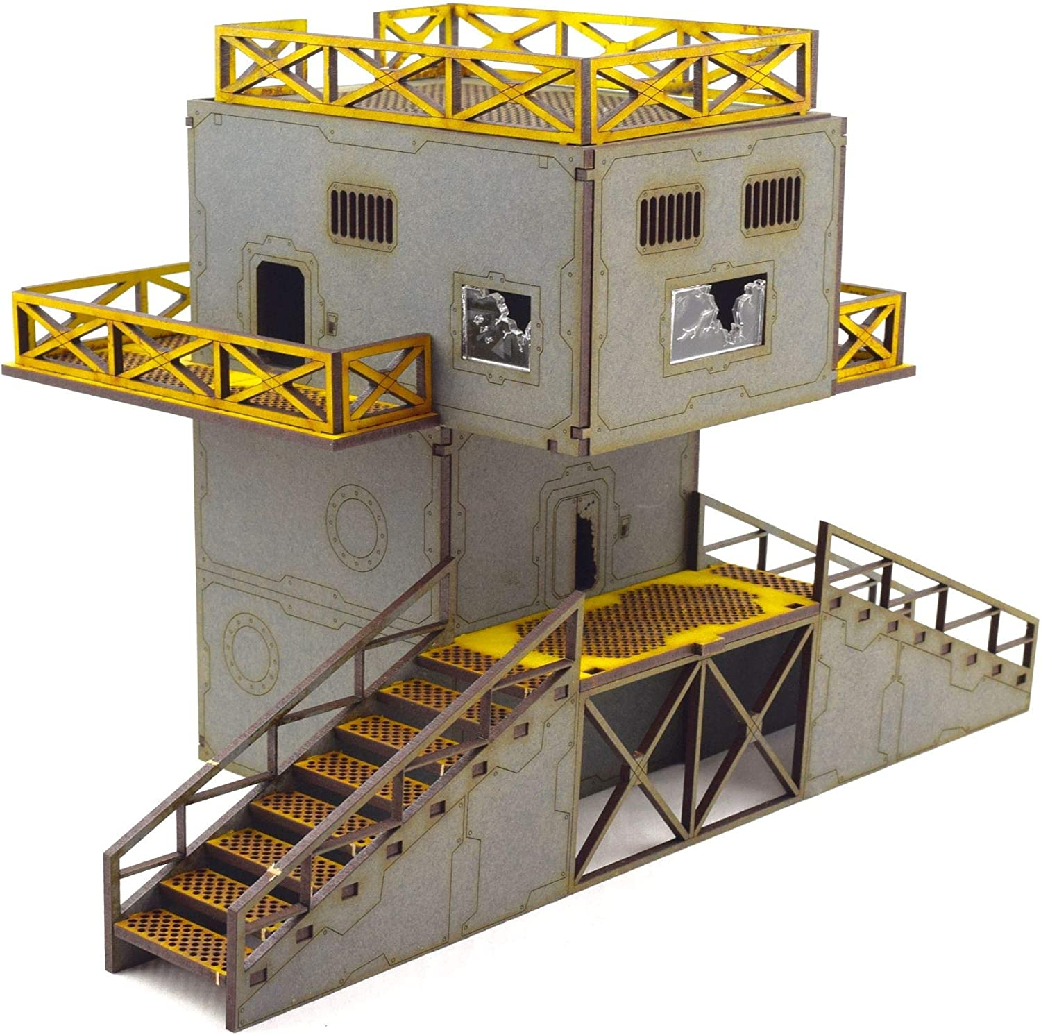 WWG Industry of War Defensive Power Service Tower – 28mm Wargaming Terrain Model Diorama