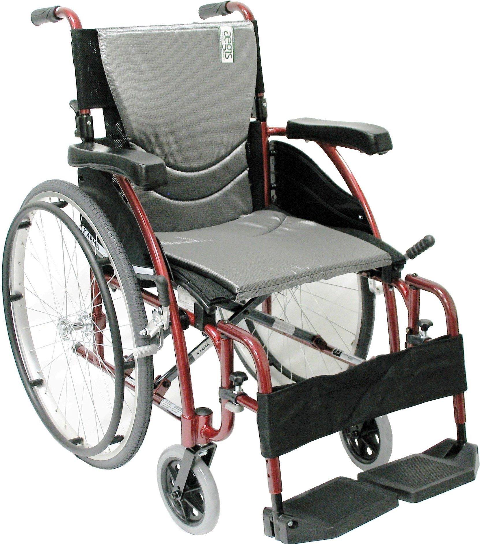 Karman Healthcare Ergonomic Lightweight Wheelchair