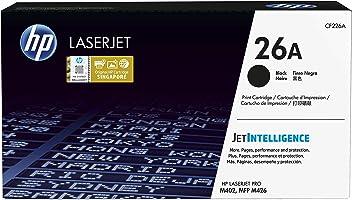 HP 26A CF226A, Negro, Cartucho Tóner Original, de 3.100 páginas, para impresoras HP LaserJet Pro M402dn, M402n, M402d,...