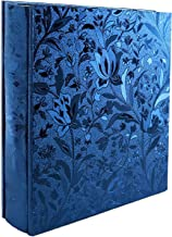 Photo Album 600 Photos PU Leather Cover Large Wedding Photo Books Black Pages Horizontal and Vertical Family Album Gift Me...