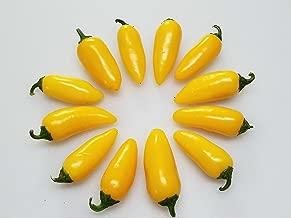 Yellow Jalapeno Pepper 10+ Seeds
